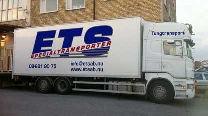 ETS Specialtransporter Lastbil